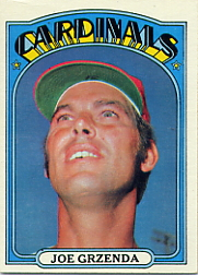 1972 Topps Baseball Cards      013      Joe Grzenda